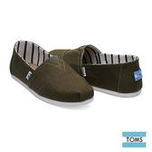 TOMS 繽紛VENICE帆布休閒鞋-男款(10011710 OLIVE)