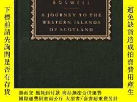 二手書博民逛書店A罕見Journey to the Western Island