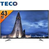 TECO 東元TL43U1TRE 43吋 4K 液晶顯示器+視訊盒