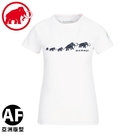 【MAMMUT 瑞士 女 QD Logo Print  AF PRT3短袖T恤 《白》】1017-02021/短T/運動短袖