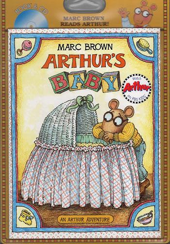 【麥克書店】ARTHUR'S BABY/英文故事繪本+CD