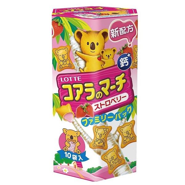 樂天小熊餅家庭號草莓口味190g