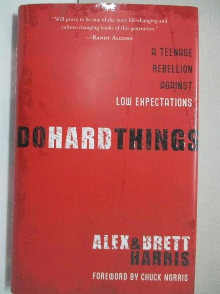【書寶二手書T1/社會_BLZ】Do Hard Things: A Teenage Rebellion Against Low…