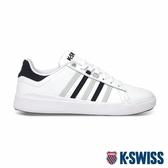K-SWISS Pershing Court Light輕量時尚運動鞋-男-白/藍/灰