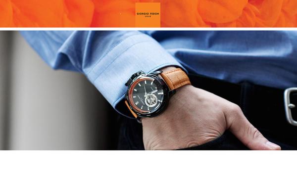 GIORGIO FEDON 1919  Timeless IV 經典機械腕錶 GFBG001