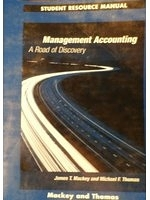二手書博民逛書店《Student resource manual, manage
