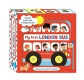 My First London Bus Cloth Book 我的倫敦布書