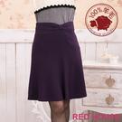 【RED HOUSE-蕾赫斯】大蝴蝶結及膝裙(紫色)