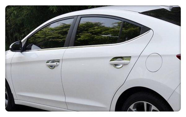 【車王小舖】現代 Hyundai Super Elantra 電鍍 拉手 把手 門把 門碗 裝飾框 保護蓋