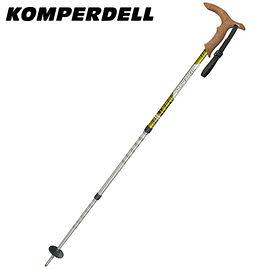 丹大戶外【KOMPERDELL】奧地利 WALKER ANTISHOCK LIGHT 鋁合金T型把避震登山杖 1762420-10