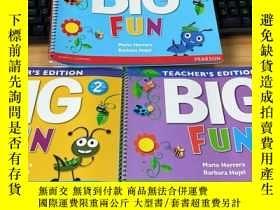 二手書博民逛書店TEACHER S罕見EDITION BIG FUN 1、2、3Y20113 見圖 見圖