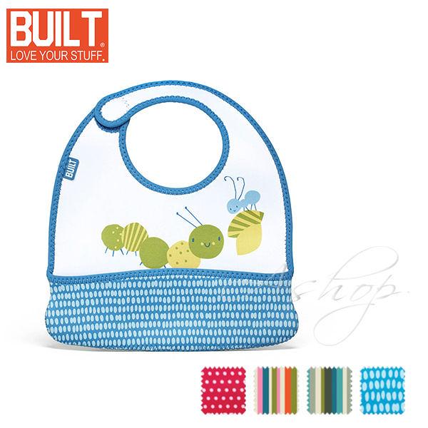 【A Shop】 BUILT NY Mess Mate Infant Bib 嬰孩必用專用圍兜兜 BBY-MMTB系列 共4款(1組2入)