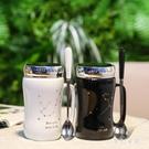 創意情人節禮物陶瓷杯馬克杯情侶水杯一對簡約咖啡杯 yu3461『夢幻家居』