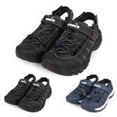 DIADORA 男運動涼鞋(拖鞋 休閒涼鞋 海邊 海灘 戲水 護趾≡體院≡