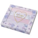 Kamio 網美風眼影型自黏便箋 標籤貼 幾何圖形 古典紫_KM25798