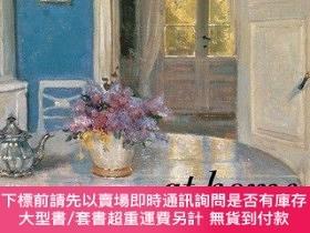 二手書博民逛書店At罕見Home: The Domestic Interior in Art-在家:室內藝術Y414958 F