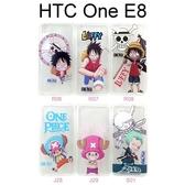海賊王透明軟殼 HTC One E8 航海王 魯夫 喬巴 索隆 保護殼【台灣正版授權】