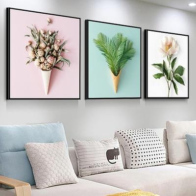 3幅 客廳裝飾畫沙發背景墻畫餐廳掛畫現代臥室畫玄關壁畫【輕奢時代】