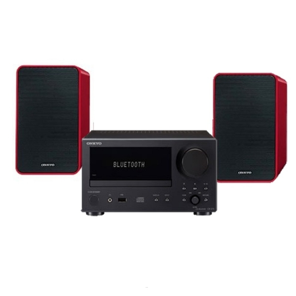 特惠品《名展音響》 Onkyo CS-375 CD迷你音響組合 公司貨 (喇叭規格為紅色)