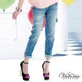 Victoria 拔色天絲棉B.F褲-女-淺藍