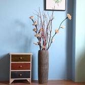 【雙十二】秒殺器復古做舊高陶罐手工創意大落地花器現代中式樣板房裝飾gogo購