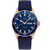 【僾瑪精品】MIDO 美度 OCEAN STAR 海洋之星200米機械潛水錶-藍色/M0264303604100