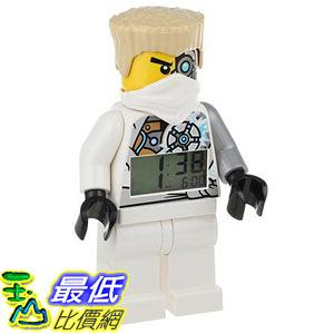 [美國直購] LEGO Kids 9009785 人偶鬧鐘 忍者 冰忍 Ninjago Zane Figurine Alarm Clock
