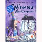 【麥克書店】WINNIE S NEW COMPUTER/英文繪本附CD /巫婆黑貓《萬聖節》