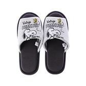 HOLA 史努比 Snoopy系列刺繡針織拖鞋-M