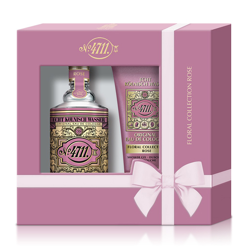 No.4711 Floral Cologne Rose 玫瑰古龍水禮盒【ZZshopping購物網】