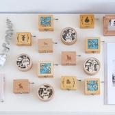 手搖音樂盒木質手搖八音盒發條音樂盒裝飾擺件創意兒童生日禮物女生節日禮品 嬡孕哺