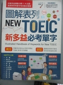 【書寶二手書T5/語言學習_ZKD】圖解表列NEW TOEIC新多益必考單字_希伯崙編輯部