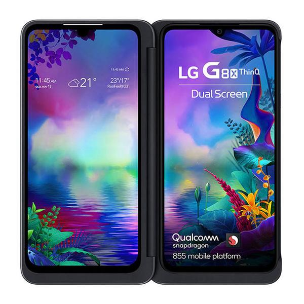 全新未拆LG G8X ThinQ Dual Screen 6G/128G 現貨黑色 超久保固18個月(有副熒幕可加購)