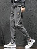 男士牛仔褲春季韓版潮流小腳學生修身款潮牌休閒束腳寬鬆工裝褲子