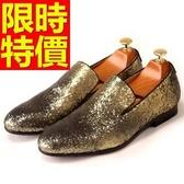 男皮鞋-大方造型懶人休閒男樂福鞋1色59p13[巴黎精品]