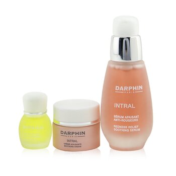 SW Darphin-88 Intral Soothing Botanical Wonders Set: Soothing Serum 30ml+ Soothing Cream 5ml+ Chamomile Aromatic Care 4ml