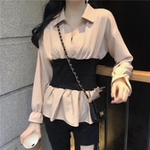 鏤空針織衫秋季新款優雅針織衫外套女開衫慵懶風很仙的洋氣鏤空短款毛衣 伊羅 新品