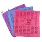 超纖維印花魔布30x30cm(圖案隨機) 萬用巾 抹布 擦拭布 清潔用抹布 廚房抹布 桌上抹布 擦拭巾