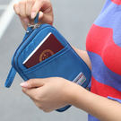 《WEEKEIGHT》高雅時尚防潑水短款護照包/證件包/手拿包/錢包