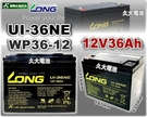 【久大電池】LONG 廣隆電池 U1-36NE 12V36Ah U1-36E-12 電動代步車 電動輪椅 捲線器 露營