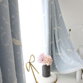 窗簾臥室少女全遮光布窗簾成品簡約現代女生網紅溫馨韓式窗簾遮光