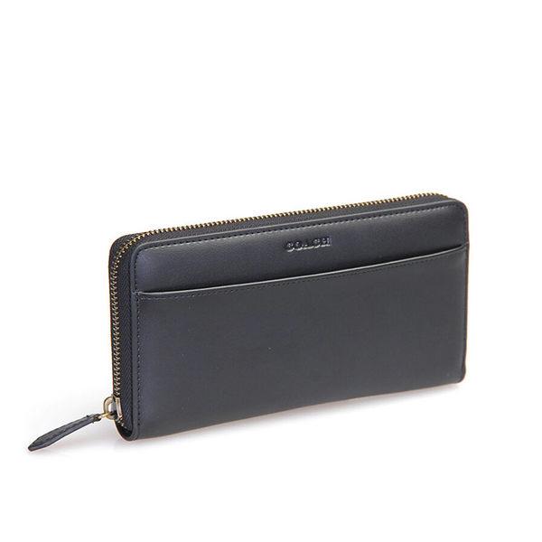 COACH 74809 男包長款錢包錢夾手拿包 黑色
