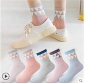 長襪 襪子女中筒襪正韓秋冬季加厚保暖可愛日系堆堆襪長襪【全館免運】
