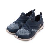 SKECHERS FLEX APPEAL 3.0 套式運動鞋 藍白 13073NVY 女鞋