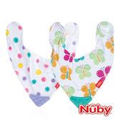 Nuby 咬咬兜 口水巾 (款式隨機出貨) 麗翔親子館