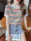 2021年夏季韓版新款時尚寬鬆顯瘦短袖上...
