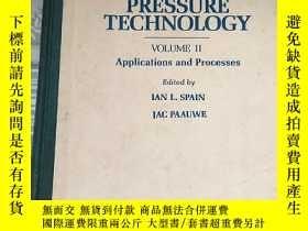 二手書博民逛書店英文版:High罕見Pressure Technology(Vo