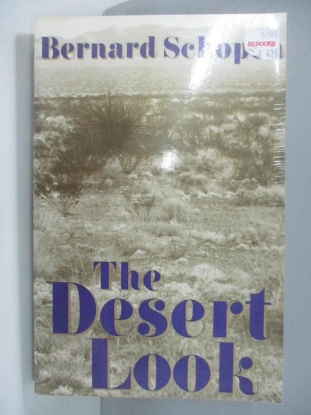 【書寶二手書T1/原文小說_AJD】The Desert Look_Schopen, Bernard