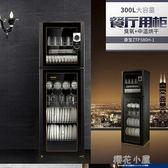 110V可用超大容量300L消毒櫃家用立式碗筷碗櫃餐具櫃商用大容量櫃QM『櫻花小屋』