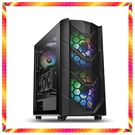 華碩 Z490 十代 i7-10700K RGB水冷 AXRX5700XT 超顯 RGB透測鋼化玻璃機殼